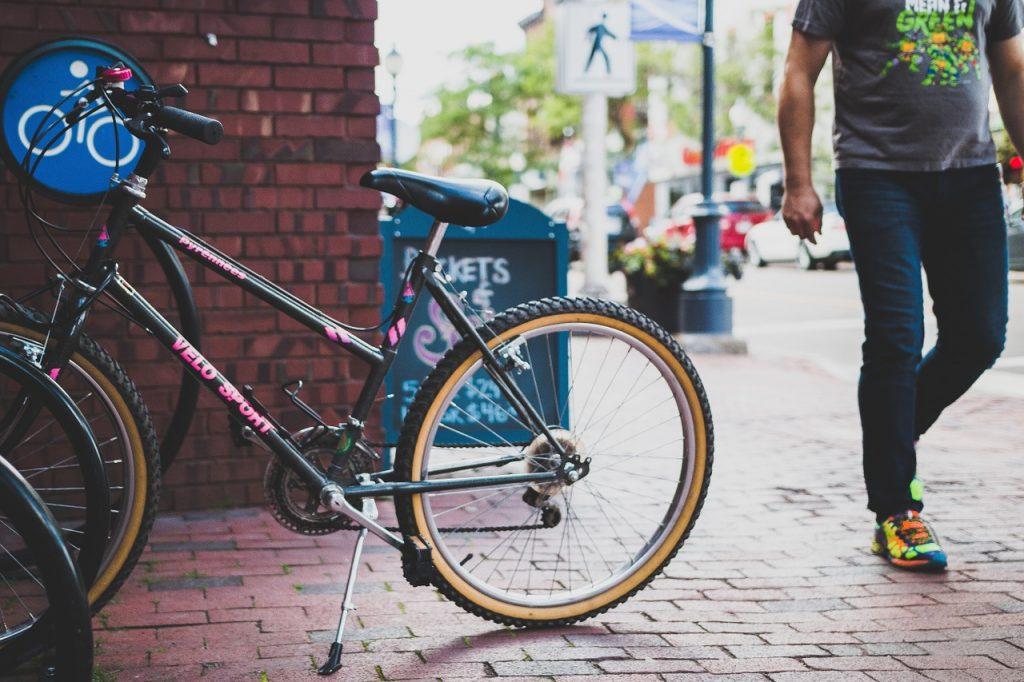Bici andar ciudad
