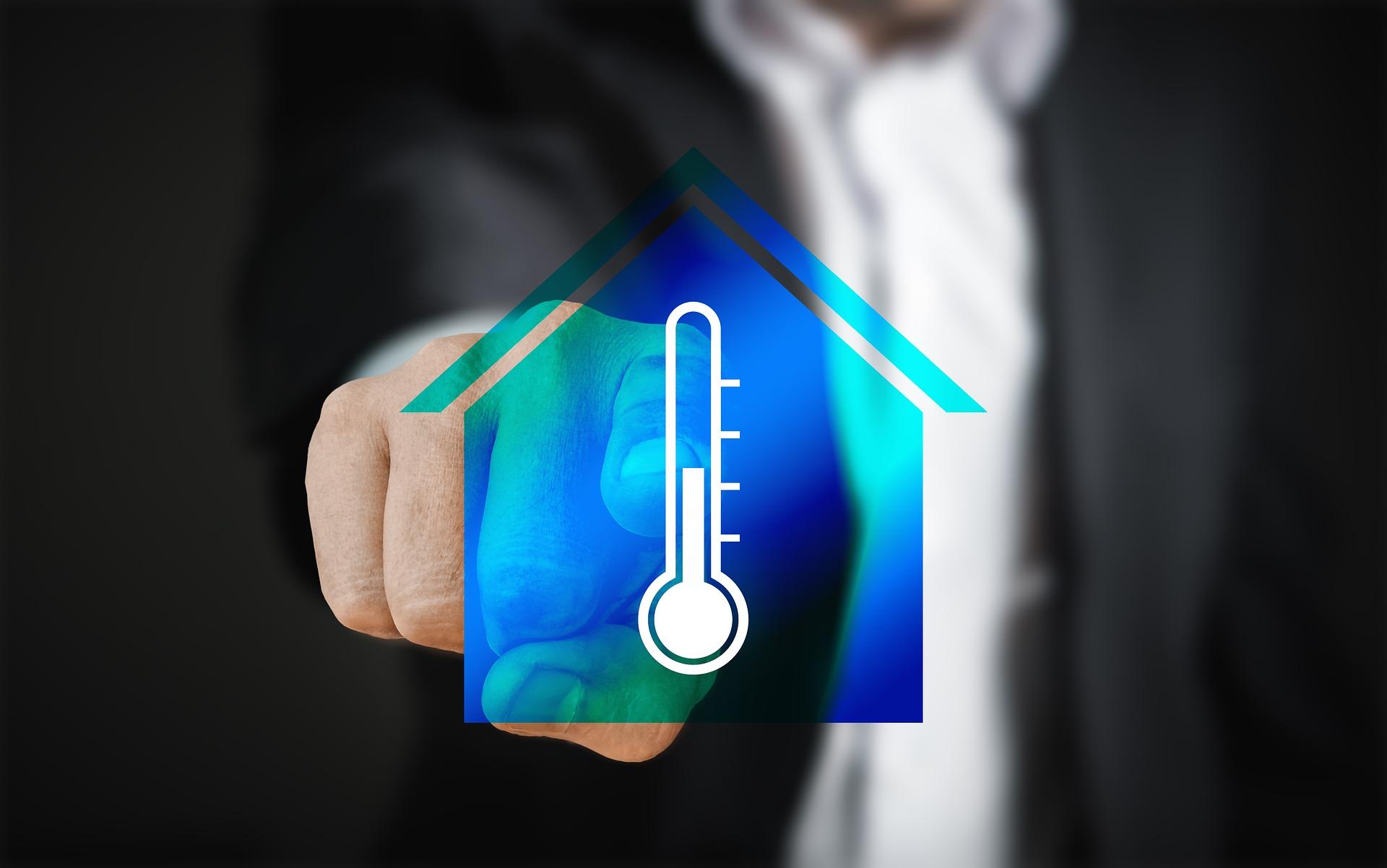 Casa calefacción