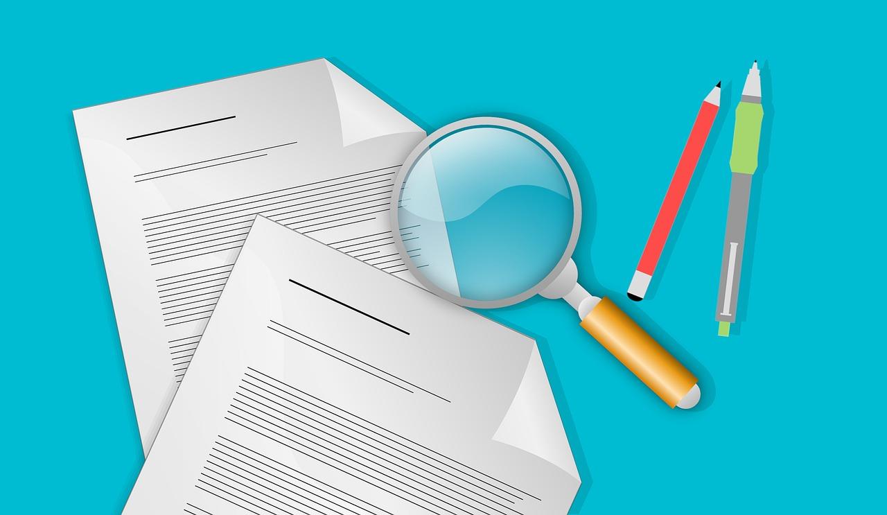 Revisar documento lupa