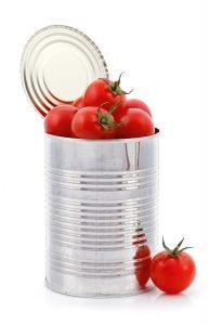 Tomates lata