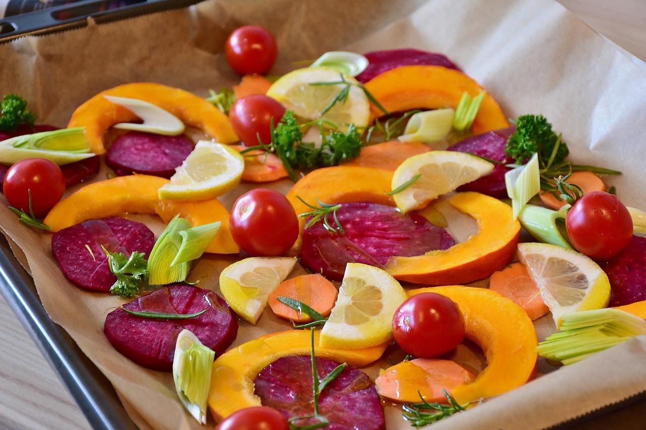 Verduras papillote