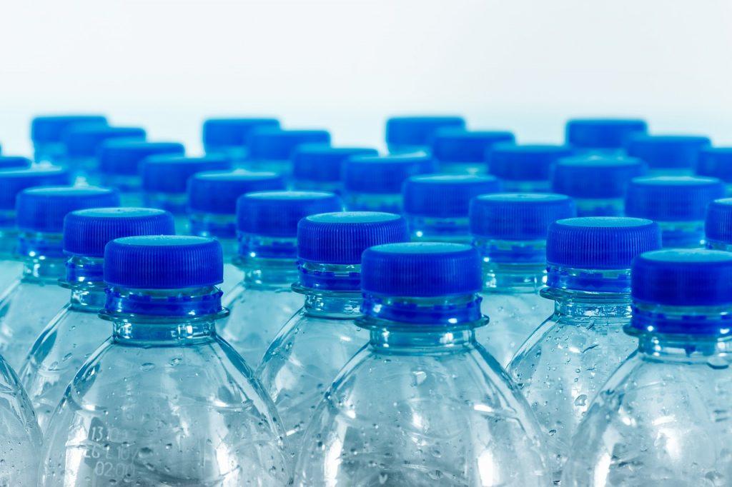 Botellas para reciclar