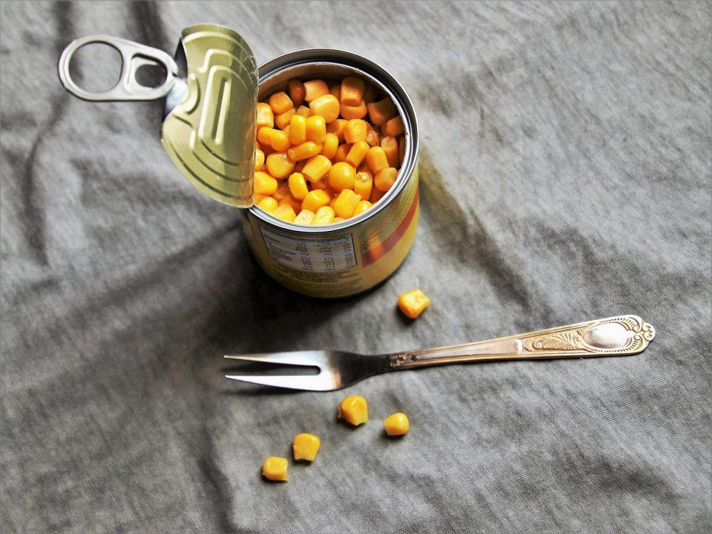 Maiz conserva lata