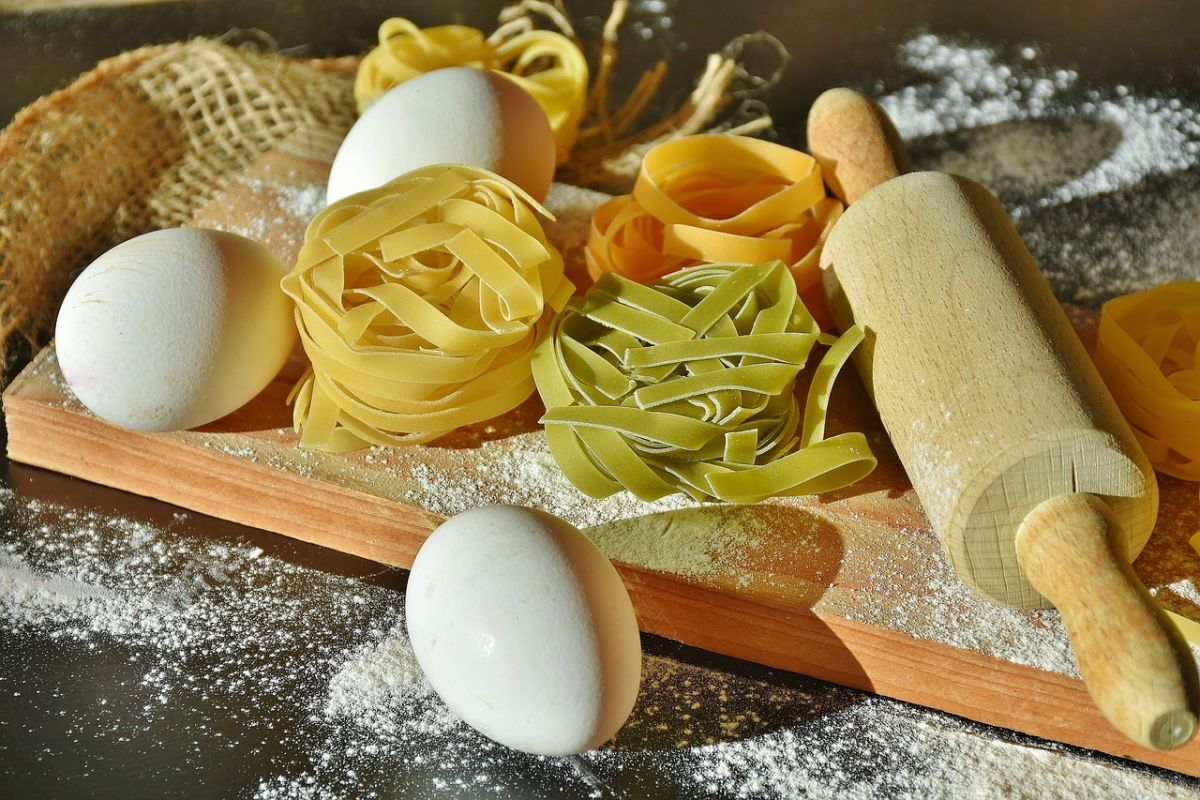 Pasta tagliatelle huevo
