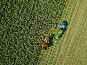 Agricultura cosecha huella ecologica