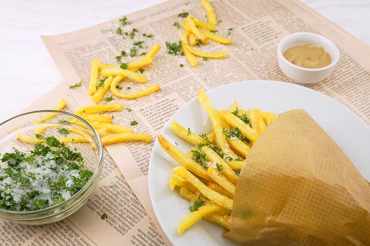 Aperitivo patatas fritas