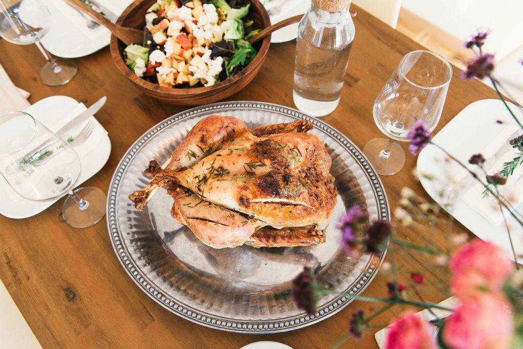 Pollo dieta saludable