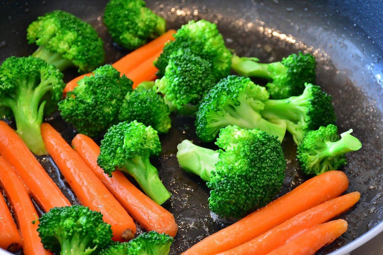 brocoli zanahoria hortalizas verduras