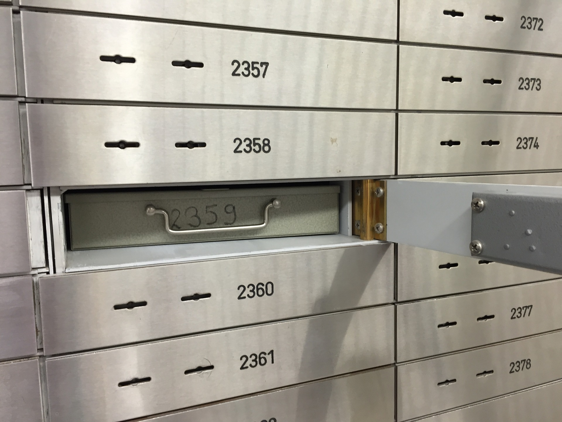 caja seguridad banco