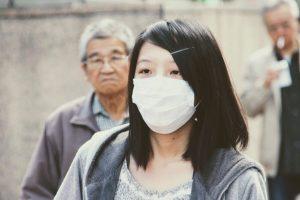 mascara gripe virus prevencion Wuhan