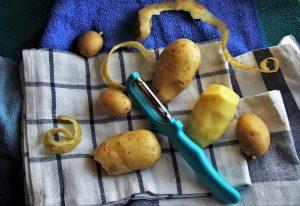Antinutriente solanina en patatas verdes