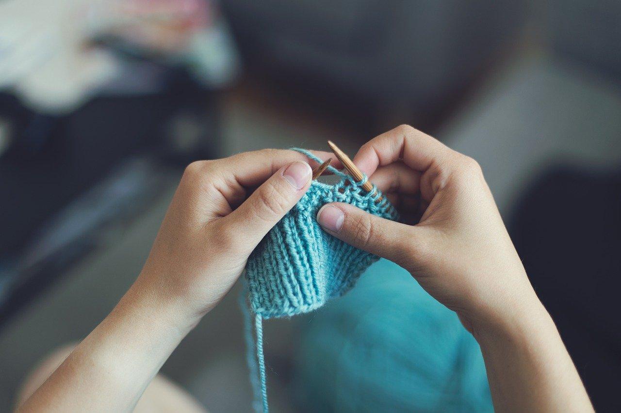 tejer agujas lana