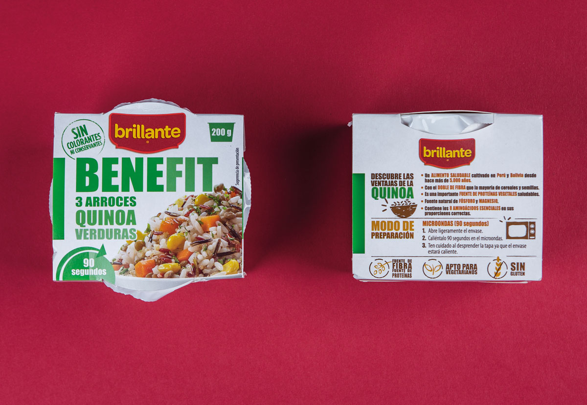arroz brillante benefit quinoa