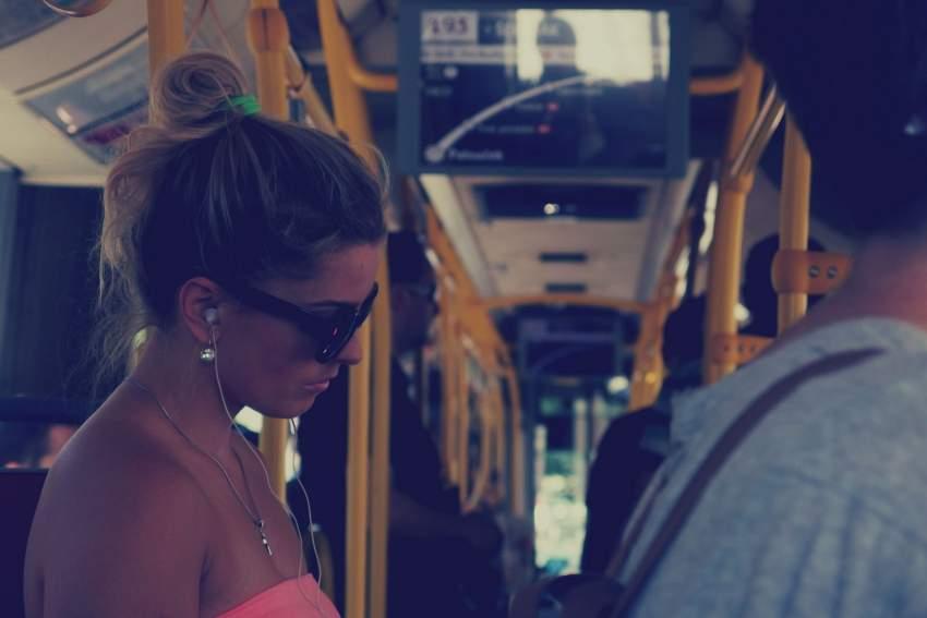 Paradas autobús antiacoso