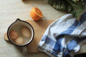 hervir huevos duros