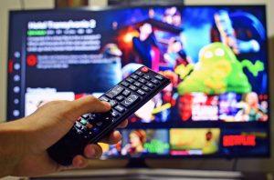 mando distancia pantalla series tv