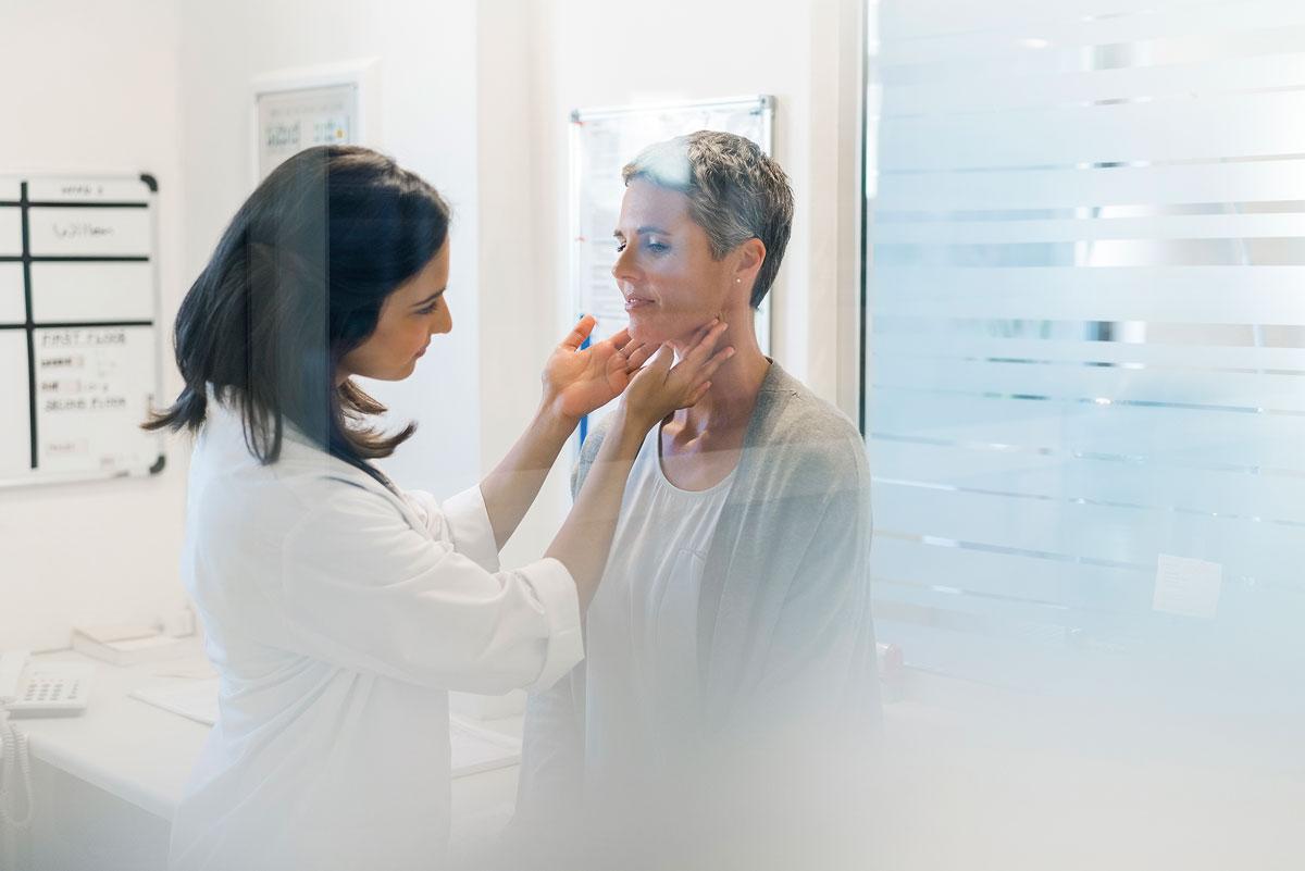 paziente endokrinoko medikua