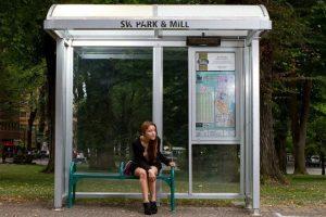 Paradas de bus a demanda antiacoso