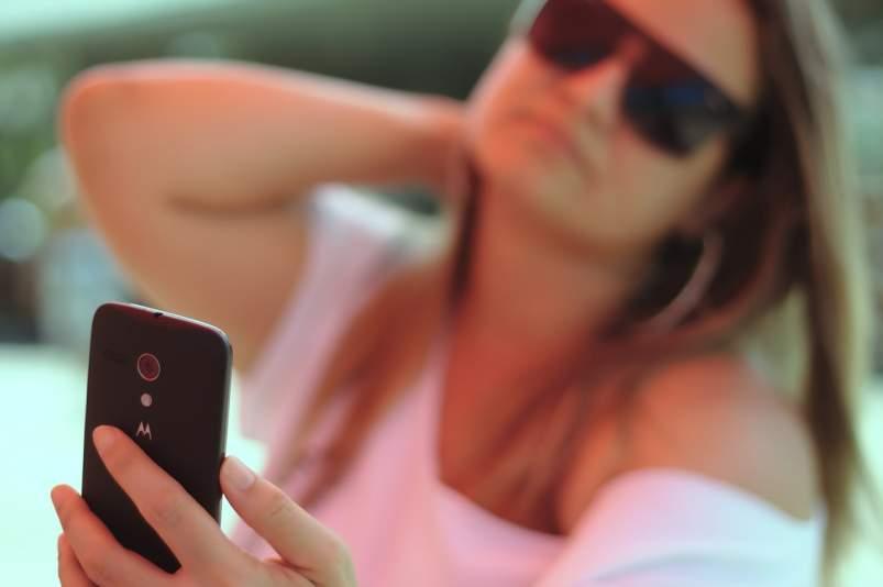 Sexting con el móvil