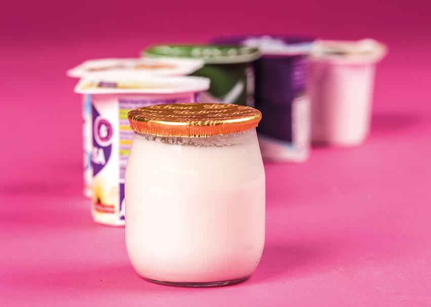 yogures leche fermentada