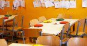 comedor colegio vacío por coronavirus