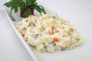 receta de ensaladilla con verdura