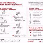 Lavarse las manos para prevenir infecciones