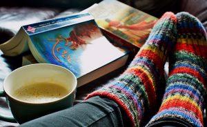 lectura libros cafe