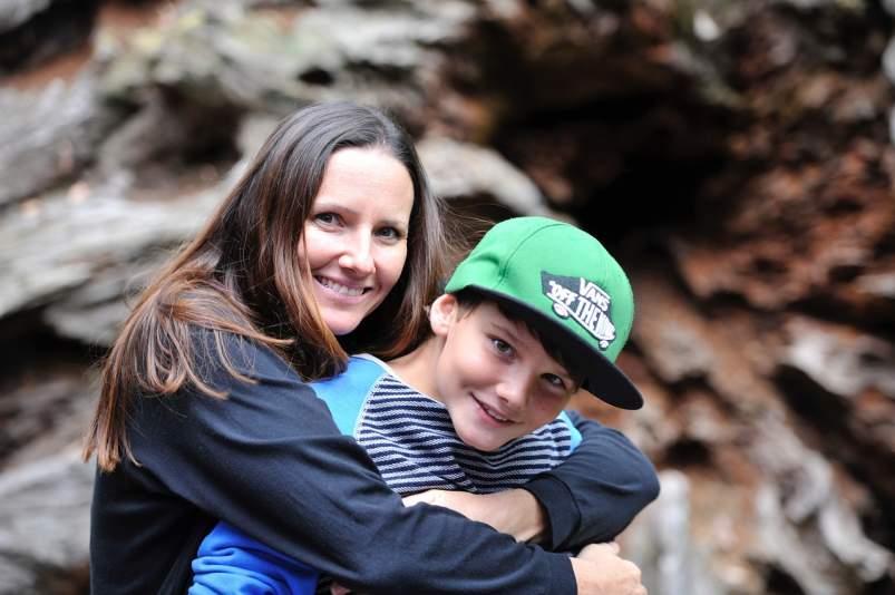 Madre y su hijo