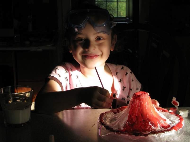 Nina sumendi bat egiten esperimentu gisa