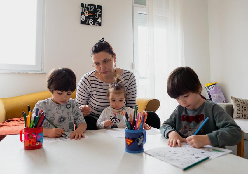 familia tarea casa convivencia
