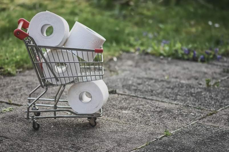 paper higienikoaren erosketa konpultsiboa