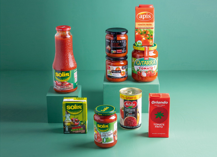 tomate frito industrial contenido nutricional