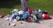 sanciones tirar mal basura
