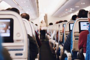 Aire cabina avión y covid-19