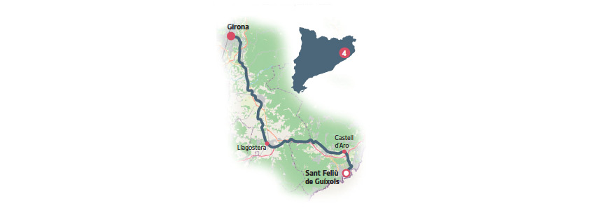 via verde carrilet Girona