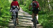 ciclistas via verde