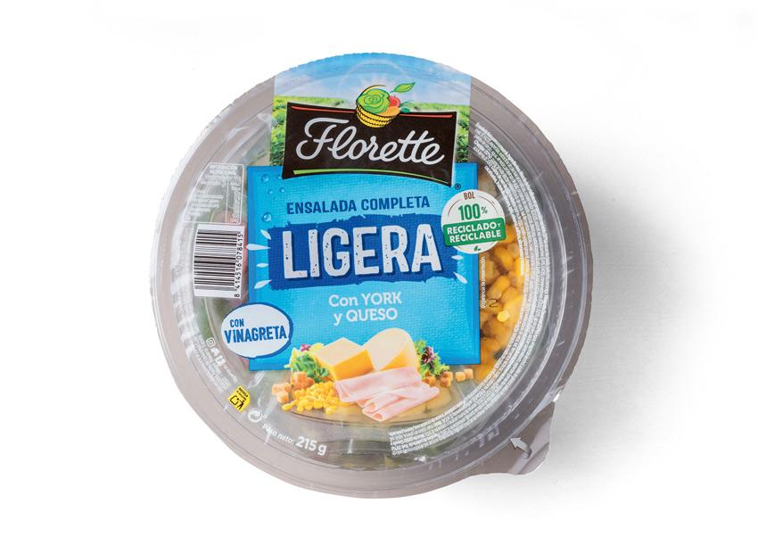 ensalada florette ligera calorias