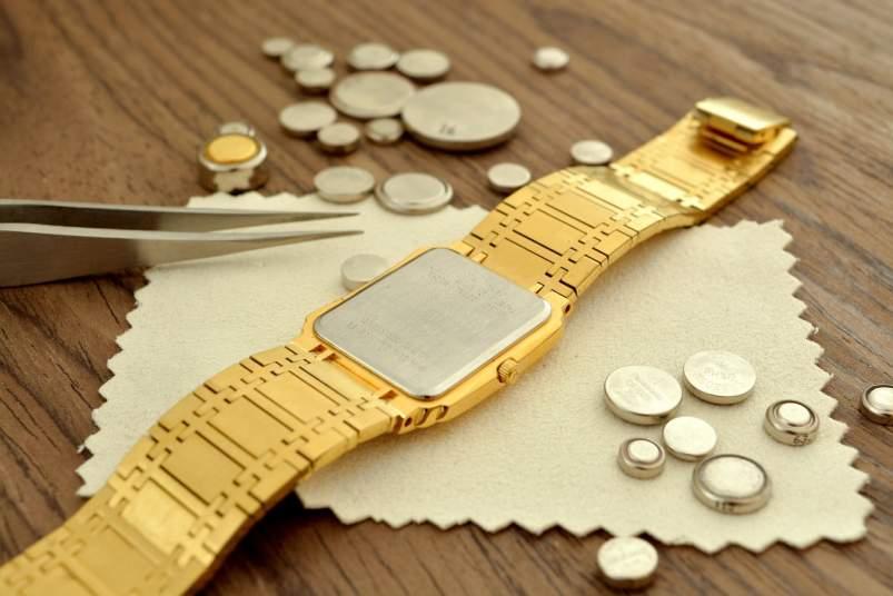 pilas reloj