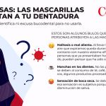 Mascarillas y dentadura