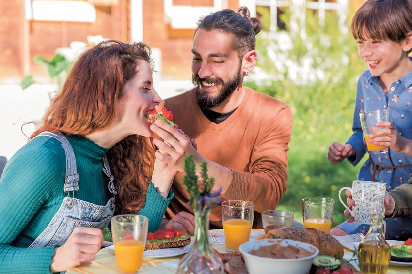 familia alimentacion saludable