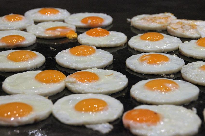 huevos plancha