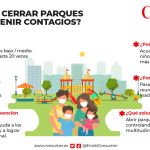 Parques infantiles y covid-19