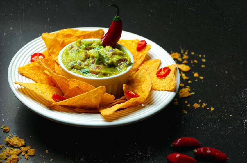nachos cocina