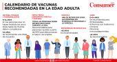 vacunas recomendadas para adultos