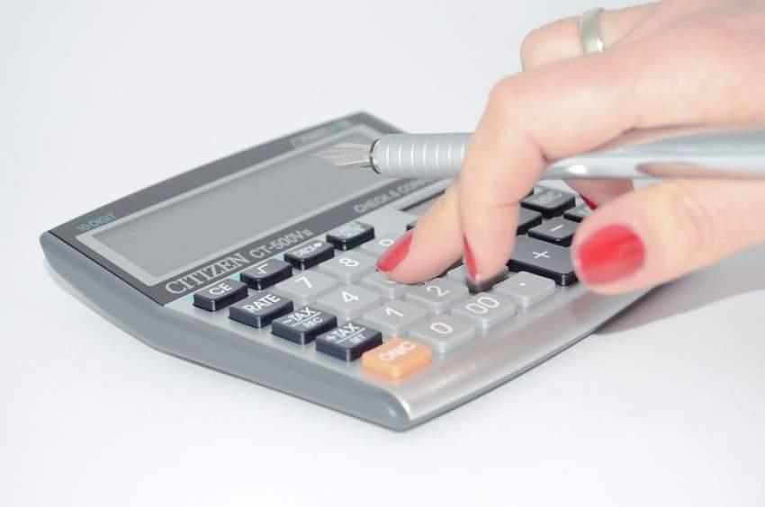 calculadora y reducir gastos