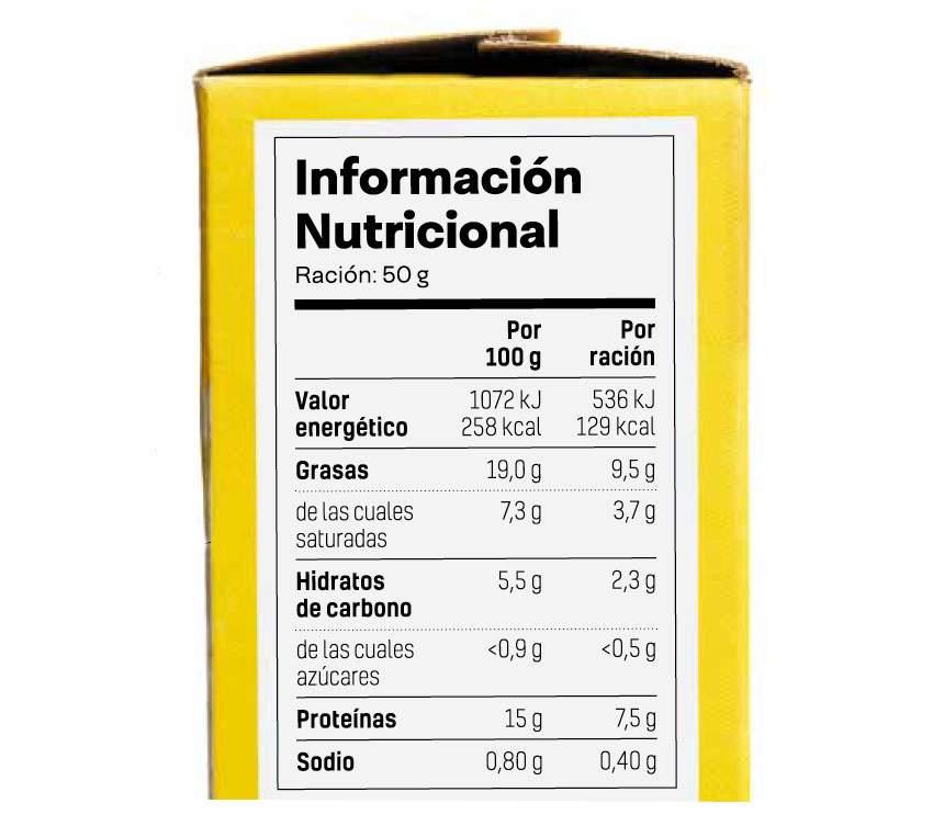 nutrizio-informazioa etiketatzea