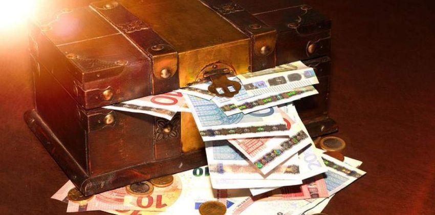 dinero cofre