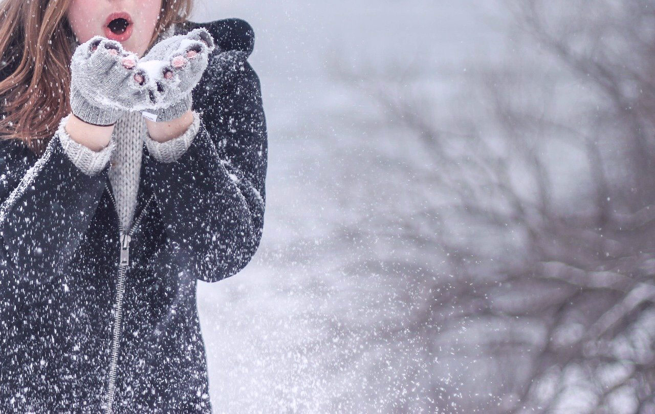 frio nieve resfriado