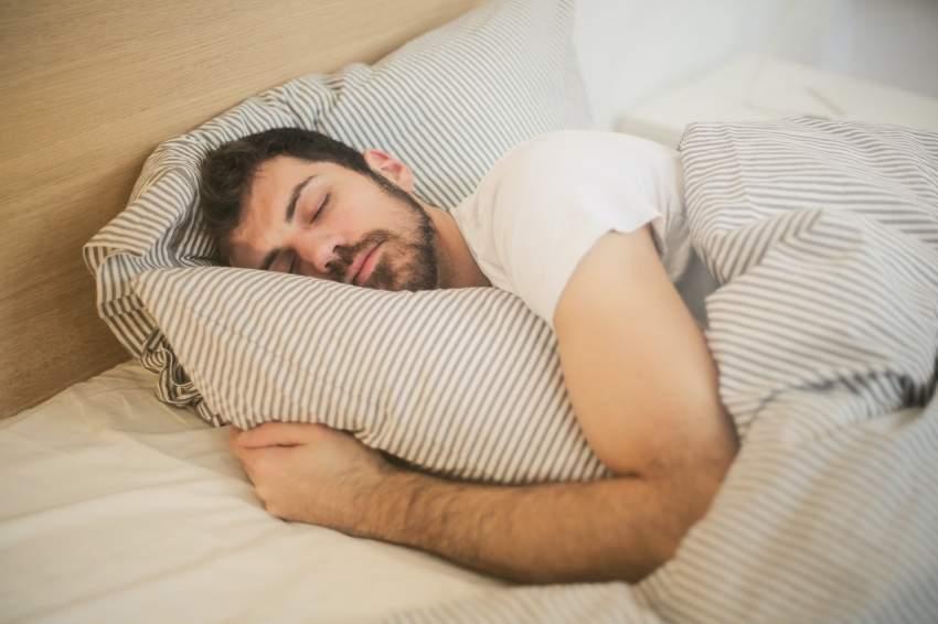dormir hombre